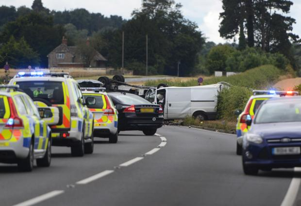 Four are left dead in tragic 24 hours on the county's roads