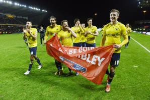 U's fans snap up 2,500 Wembley tickets in first hour